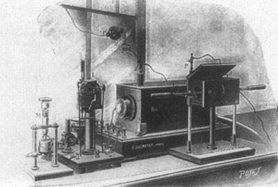 Радиостанция производства фирмы Дюкрете — передатчик