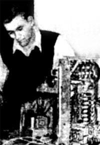 В. Ширвайтис (позже, в Литовской ССР – RP2NBQ), 1956 г.