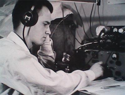 Г. Закоморный (RF6AAA), 1956 г.