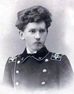 Студент ЭТИ Имант Фрейман. 1911 год