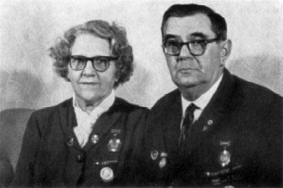 Анна и Макс Клаузен. Берлин. 1967 г