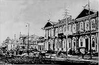 Вид Николаевска-на-Амуре. Торговый дом «Кунсти Альберст». 1908 год