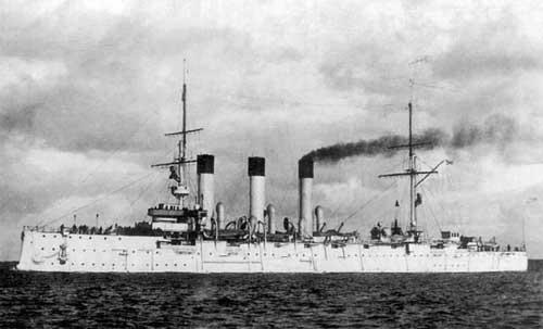 Крейсер «Аврора». 1903 год