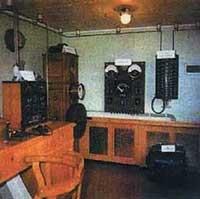 Общий вид радиорубки крейсера «Аврора». Фото 1988 года