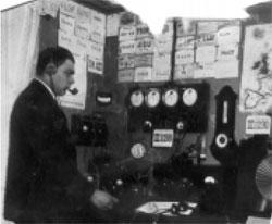 Макс Клаузен в радиолюбительской
