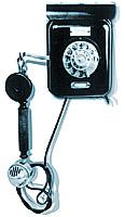 Настенный телефонный аппарат системы АТС (первый советский серийный аппарат для работы с АТС).