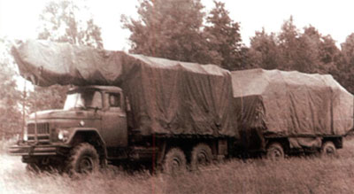 Р-410 Антенная машина СОСНА-М