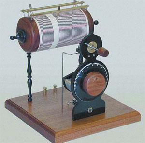 Детекторный кристаллический радиоприемник. Конец ХХ века