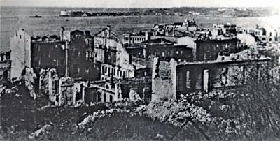 Связь в осажденном Севастополе