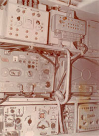 Radio-master's section of Electronic Computing Complex (ECC) Beta-3m