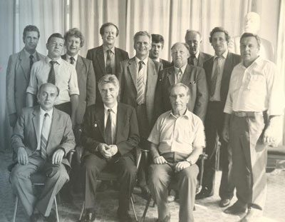 1985, Colleagues – Yuri Rogachev is 60