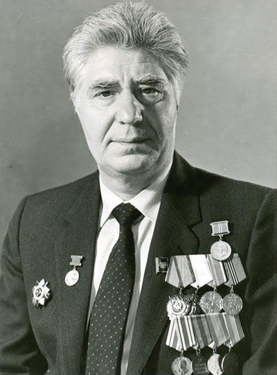 1988. Rogachev is awarded honourable pension.