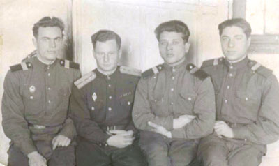 The friends; 'veterans' just before demobilization, 1950
