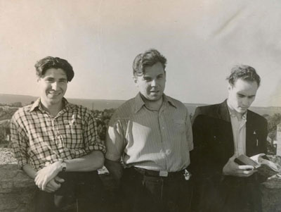 At student practical training; Estonia, Tallinn 1956